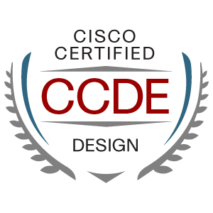 Logo for Cisco Certified Design Expert